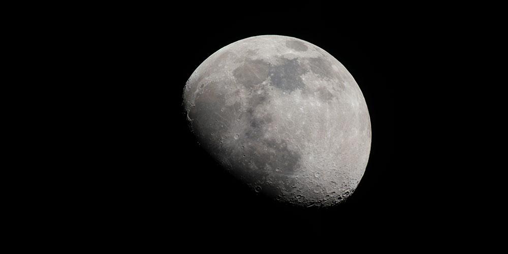 Amateur astrophotography photo of the Moon by Lauren Wesley