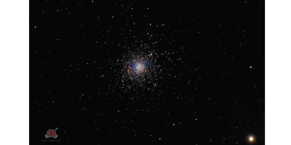 Star cluster by amateur astrophotographer Dave Rust