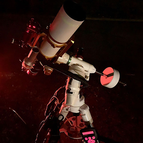 Dave Rust's amateur astrophotography rig
