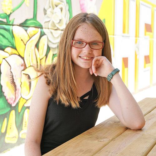 Samantha Vance, 2021 Power of Children Awards awardee