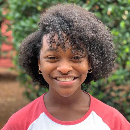 ZaNia Stinson, 2021 Power of Children Awards awardee